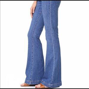 Madewell Jeans - Madewell Flea Market Flare Jeans Sailor Edition